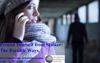 Protect Yourself from stalker